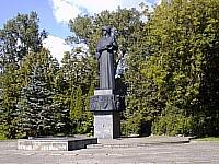 Monument devoted to a victory in Great domestic war of 1941-1945.